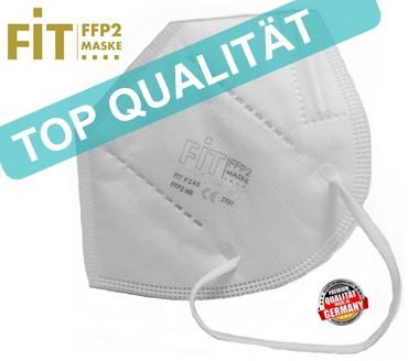 """FIT FFP 2 Maske """"Made in Germany"""" mit integriertem Nasenbügel"""