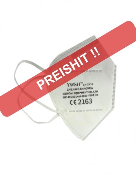 YWSH™ FFP2 Maske CE2163 - Preistipp
